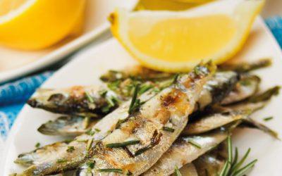 Sardines express au romarin